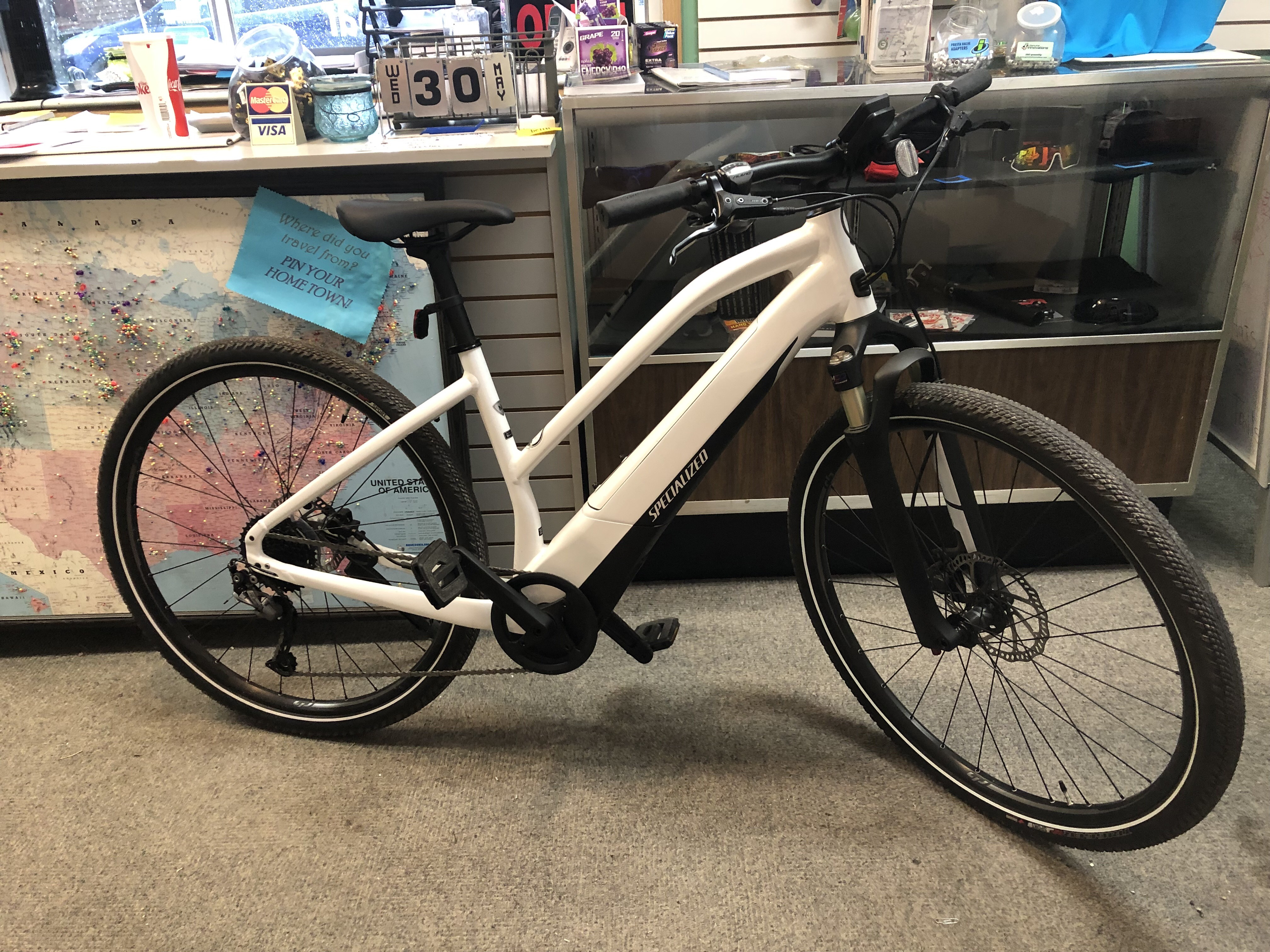 Our new Specialized Turbo E-Bikes will give you near superhuman power while you cruise down the Mickelson Trail!